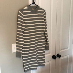 Gap long sleeve dress size small tall